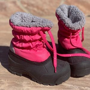 Northside Pink Toddler Snow Boots Size 10
